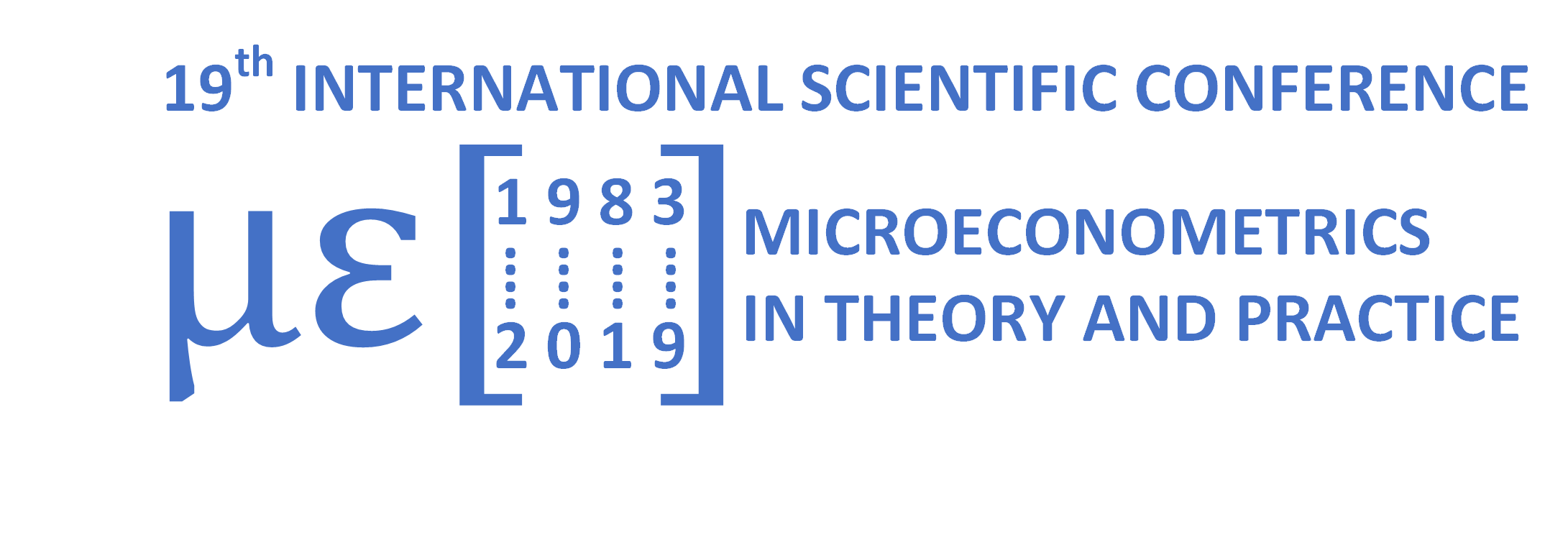 Microeconometrics in Theory and Practice conference page